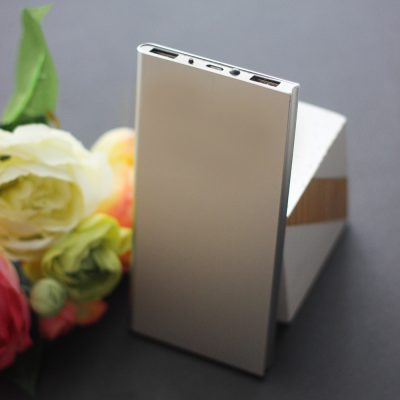 power bank metal souvenir