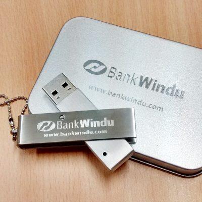 flashdisk souvenir metal swivel murah