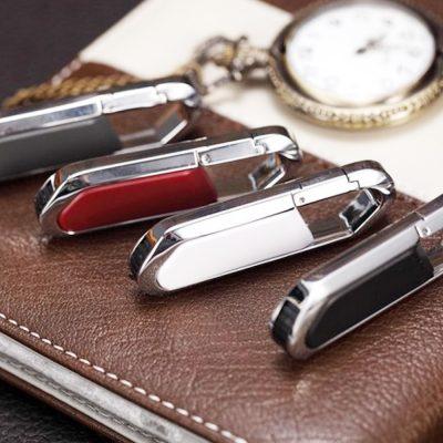 Flashdisk Clip Kulit Leather Jakarta Jogja