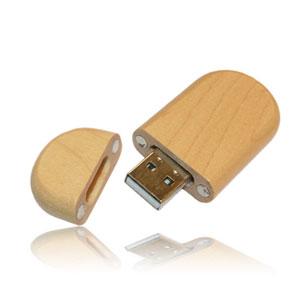 flashdisk kayu souvenir