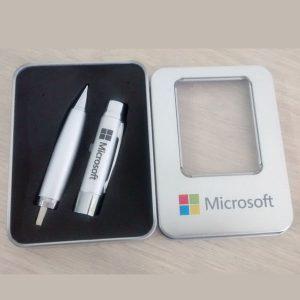 Flashdisk pulpen souvenir murah