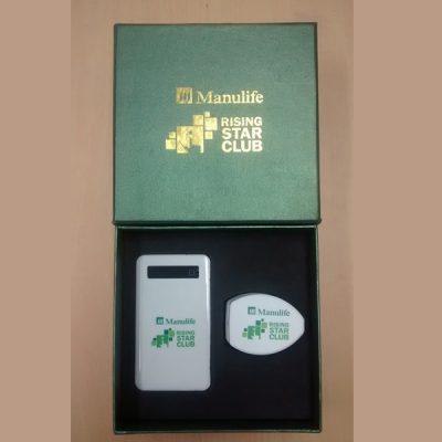 set power bank gift