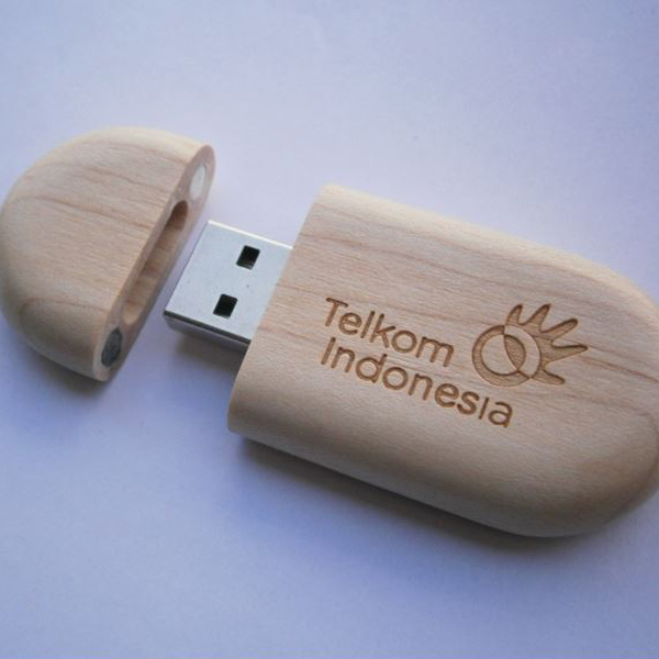 flashdisk wood souvenir