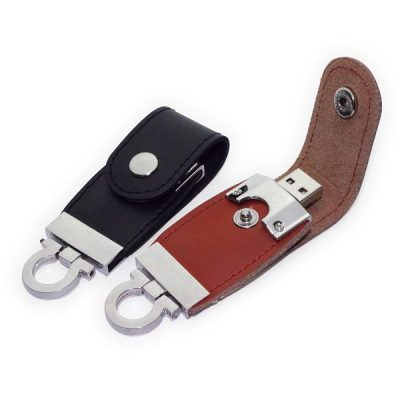 Flashdisk Kulit Murah Souvenir Leather Case
