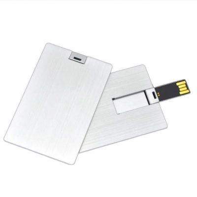 Jual Flashdisk Kartu Metal Aluminium Murah