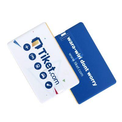Flashdisk Kartu murah dan berkualitas untuk branding merek bisnis