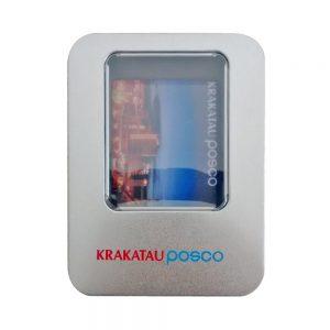Box Packaging Kotak Kaleng Flashdisk Kartu Souvenir