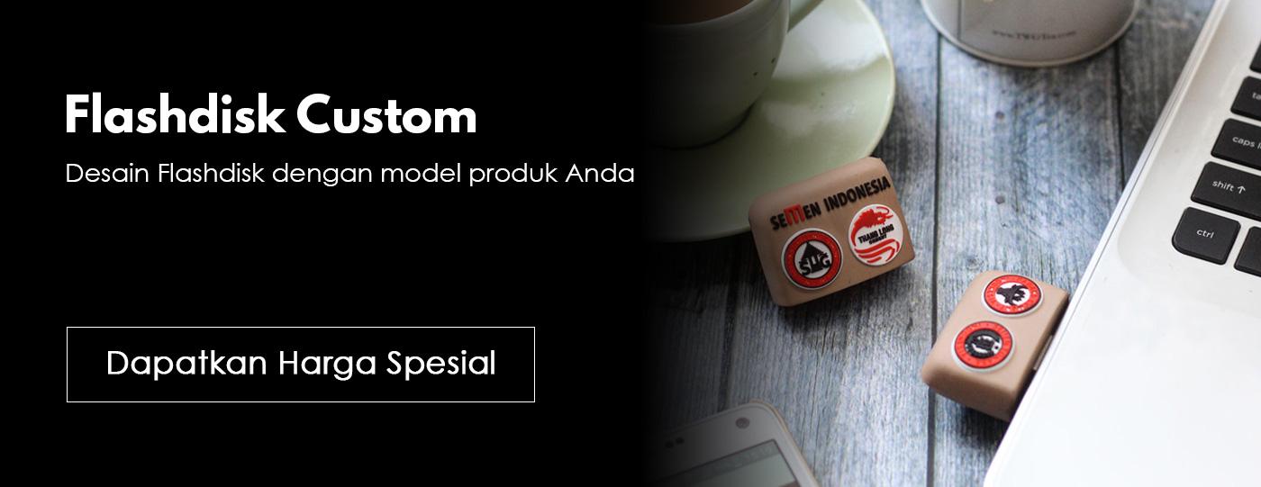 Flashdisk Promosi Custom Karet