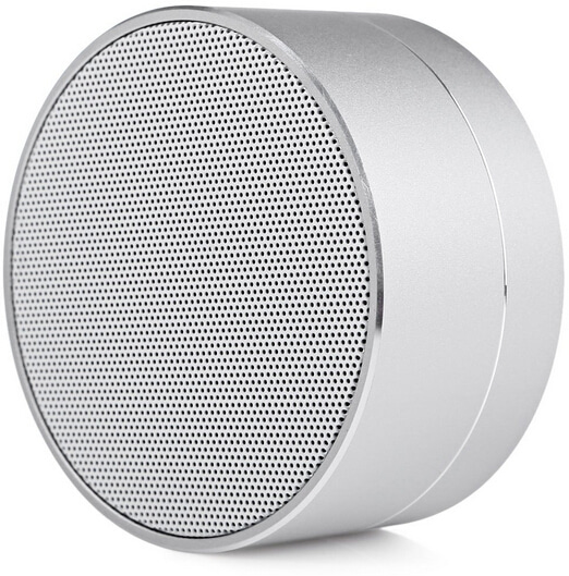 Speaker bluetooth berlogo untuk branding bisnis