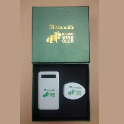 set power bank gift