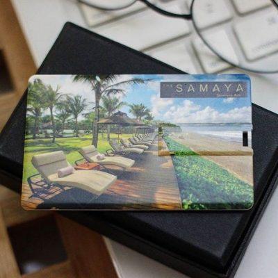 Flashdisk unik berlogo murah dan berkualitas untuk branding hotel & resort Samaya