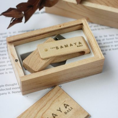 Flashdisk wood promosi