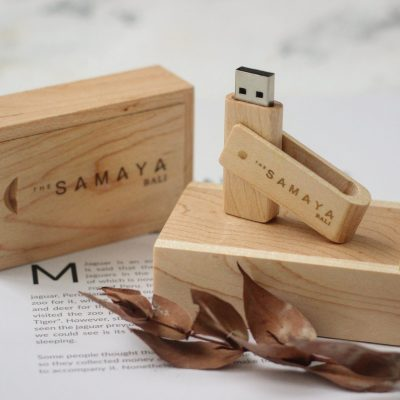 flashdisk kayu premium